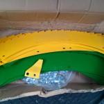 Комплект ножей / чистиков / крепежей на жатку KEMPER на РСМ-1401 (Производство Германия)